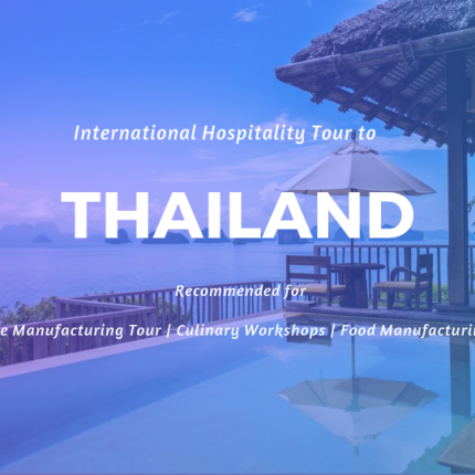 Industrial Visit to Thailand | Hospitality study tour