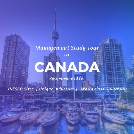 MBA Study Tour Canada| Industrial Visit