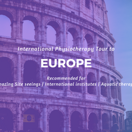Industrial Visit to Europe | Physiotherapy tour